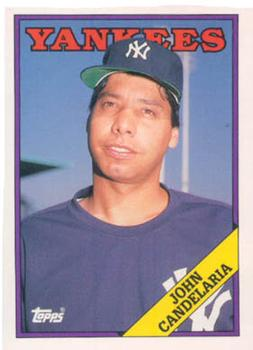 1988 Topps Traded #25T John Candelaria Front
