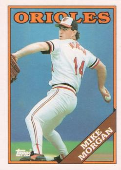 1988 Topps Traded #73T Mike Morgan Front