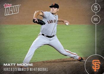 2016 Topps Now #394 Matt Moore Front
