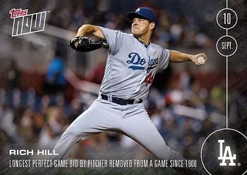 2016 Topps Now #440 Rich Hill Front
