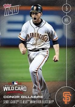 2016 Topps Now #542 Conor Gillaspie Front