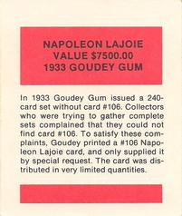 Collection Gallery Sandys Singles Nap Lajoie The Trading Card
