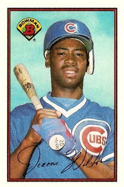 1989 Bowman #295 Jerome Walton Front