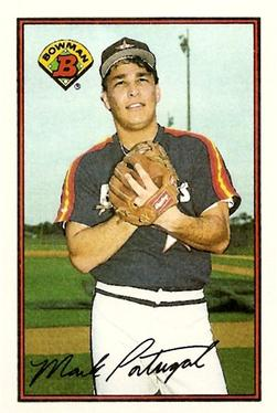 1989 Bowman #318 Mark Portugal Front