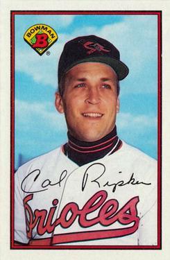 1989 Bowman #9 Cal Ripken Front