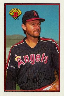 1989 Bowman #41 Bert Blyleven Front
