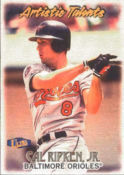 1998 Ultra Gold Medallion Edition #143G Cal Ripken Jr Baltimore Orioles Card