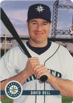 2001 Keebler Seattle Mariners #20 David Bell Front
