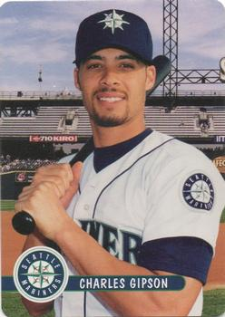 2001 Keebler Seattle Mariners #24 Charles Gipson Front