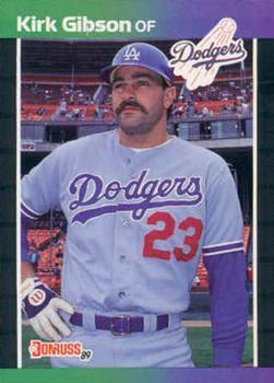 1989 Donruss #132 Kirk Gibson Front