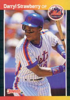 1989 Donruss #147 Darryl Strawberry Front