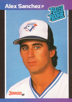 1989 Donruss #47 Alex Sanchez Front