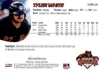 Tyler White Gallery The Trading Card Database