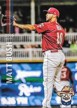 2016 Grandstand Frisco RoughRiders #NNO Matt Bush Front
