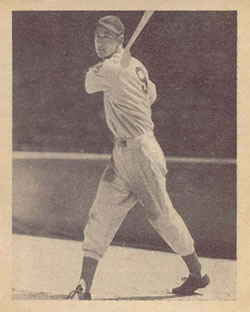 1939 Play Ball #92a Ted Williams Front