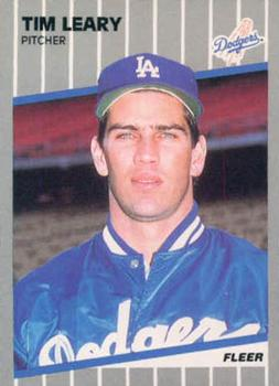 1989 Fleer #65 Tim Leary Front
