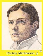 Christy Mathewson Gallery The Trading Card Database