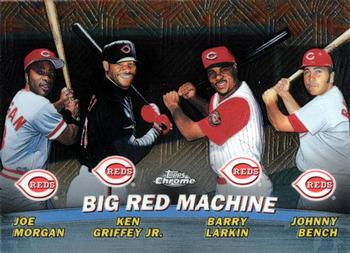 0be501eaf5 2001 Topps Chrome - Combos #TC7 Big Red Machine (Joe Morgan / Ken Griffey