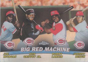8faa9df990 2001 Topps Chrome - Combos Refractors #TC7 Big Red Machine (Joe Morgan / Ken  Griffey Jr. / Barry Larkin / Johnny Bench)