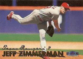 1999 Fleer Tradition Update #U-9 Jeff Zimmerman Front