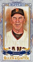 2016 Topps Allen & Ginter - Mini Skippers #S-17 Bruce Bochy Front
