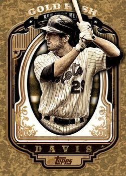 2012 Topps - Gold Rush Wrapper Redemption (Series 2) #65 Ike Davis Front