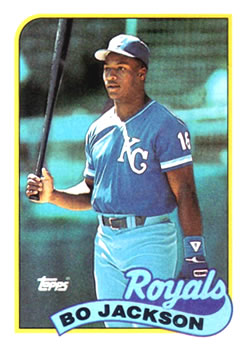 hot sale online 86171 ecf85 Collection Gallery - Colengco90 - Bo Jackson | The Trading ...