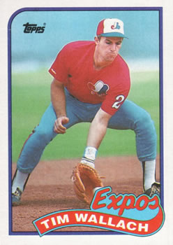 1989 Topps #720 Tim Wallach Front