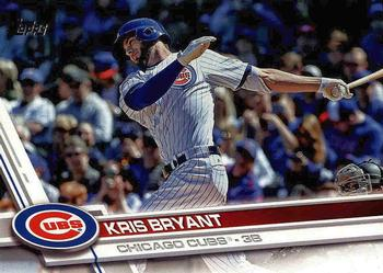 2017 Topps #1 Kris Bryant Front