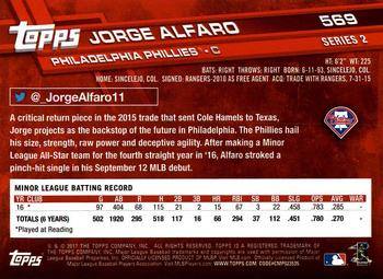 Jorge Alfaro Gallery The Trading Card Database