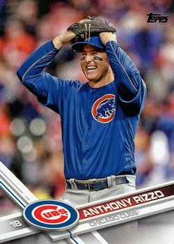 2017 Topps #500 Anthony Rizzo Front