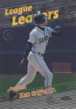 1999 Topps #454 Sammy Sosa Juan Gonzalez Ken Griffey Jr Texas Rangers Card