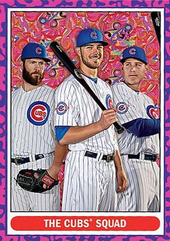 2016 Topps Throwback Thursday #78 Jake Arrieta / Kris Bryant / Anthony Rizzo Front