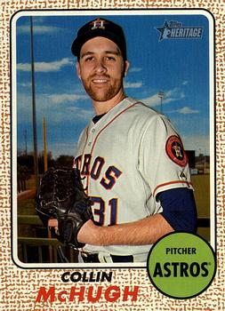 2017 Topps Heritage #47 Collin McHugh Front