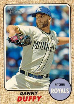 2017 Topps Heritage #474 Danny Duffy Front
