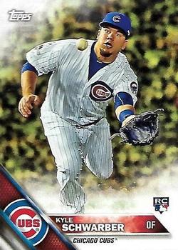 2016 Topps New Era #6 Kyle Schwarber Front