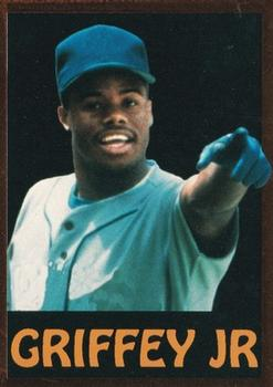 1991 Alrak Enterprises Ken Griffey Jr. Griffey Gazette #1 Ken Griffey Jr. Front