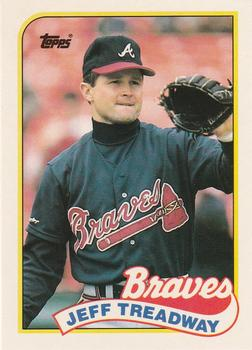 1989 Topps Traded #121T Jeff Treadway Front