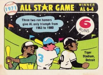1981 Fleer Laughlin Team Stickers #NNO Seattle Mariners Monogram Back