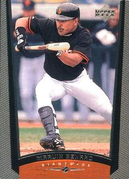 1999 Upper Deck #482 Marvin Benard Front