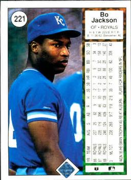 Collection Gallery Comero Bo Jackson The Trading Card