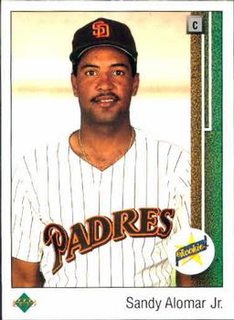 1989 Upper Deck #5 Sandy Alomar Jr. Front