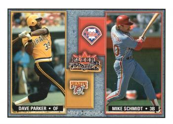 2002 Fleer Fall Classic - Rival Factions #22RF Dave Parker / Mike Schmidt Front