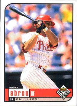 1999 UD Choice #126 Bobby Abreu Front