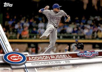 2017 Topps Opening Day #86 Addison Russell Front