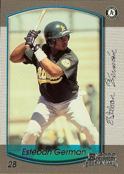 2000 Bowman Draft Picks & Prospects #22 Esteban German Front
