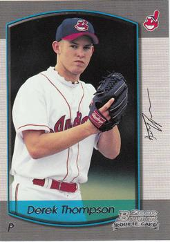 2000 Bowman Draft Picks & Prospects #23 Derek Thompson Front