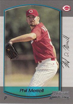 2000 Bowman Draft Picks & Prospects #24 Phil Merrell Front