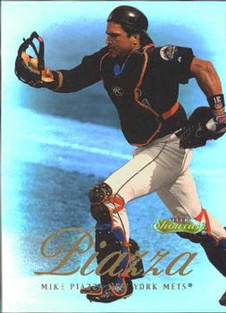 2000 Fleer Showcase #46 Mike Piazza Front