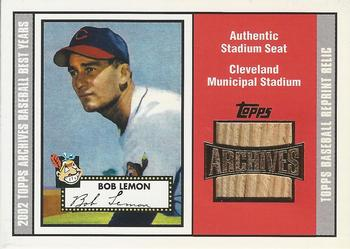 2002 Topps Archives Seat Relics Baseball Gallery The